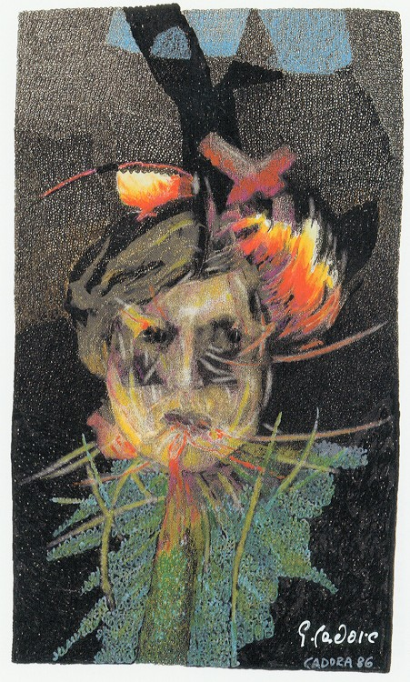 Rimbaud, the thief of fire by Georg Cadora