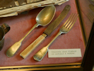 Rimbaud's cutlery when he was in Harar. Charleville, Arthur Rimbaud.