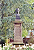 Charleville, Rimbaud's bust in the public garden of the Station 2